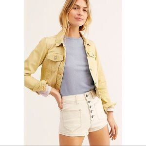NWT $68 Free People Women's Bridgette Denim Shorts